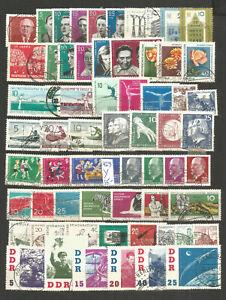 DDR-1961-gestempelt-Jahrgang-komplett-829-Y