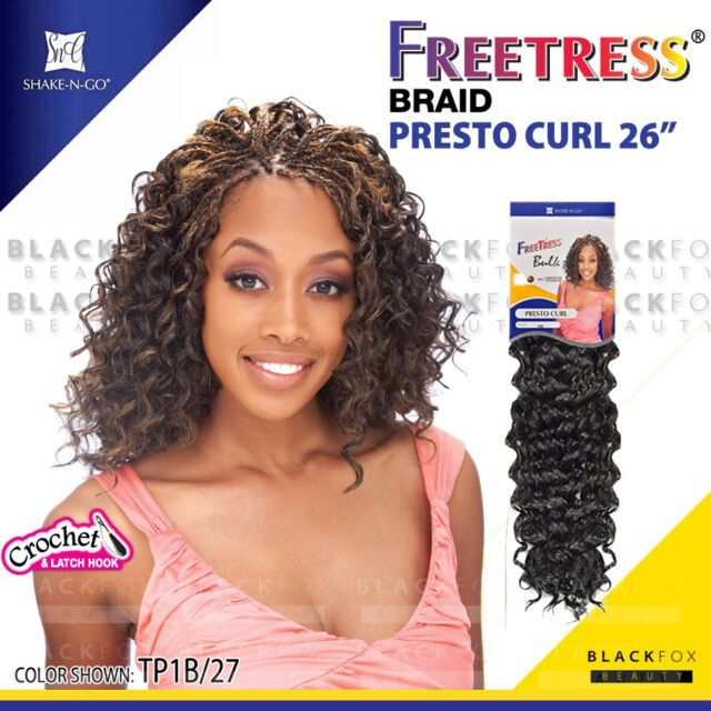Shake N Go Freetress Bluk Braid Presto Curl 20 33 Ebay