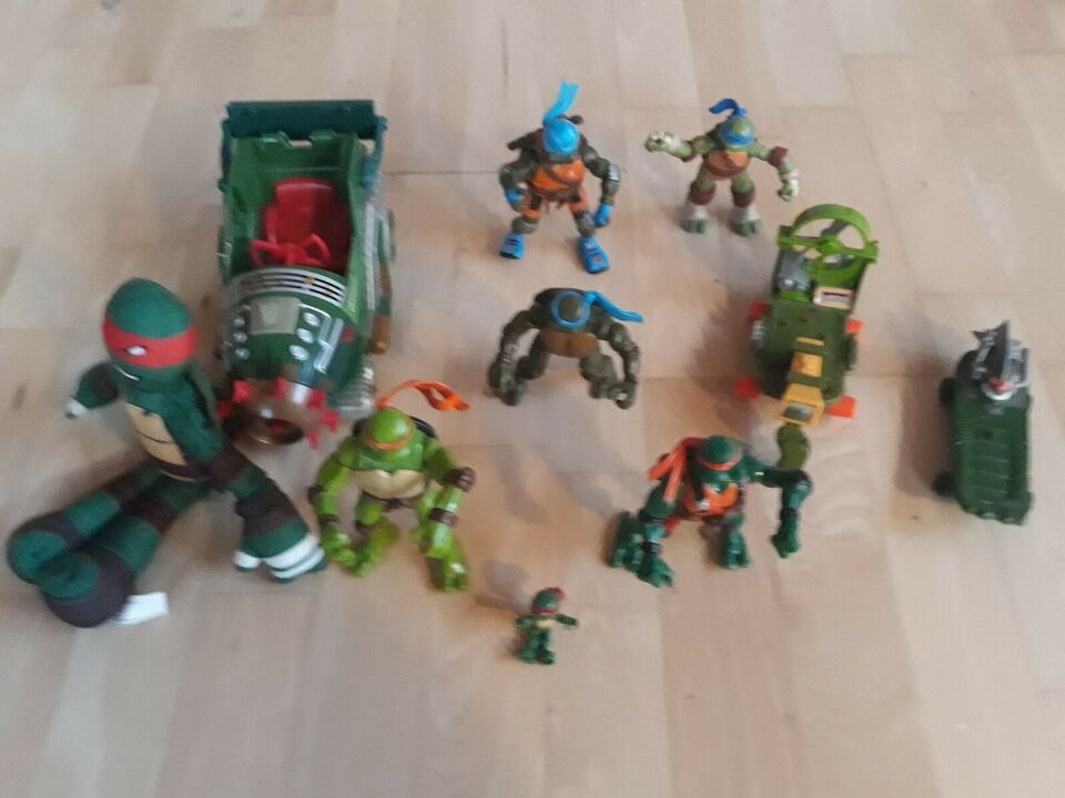 Turtles-figurer