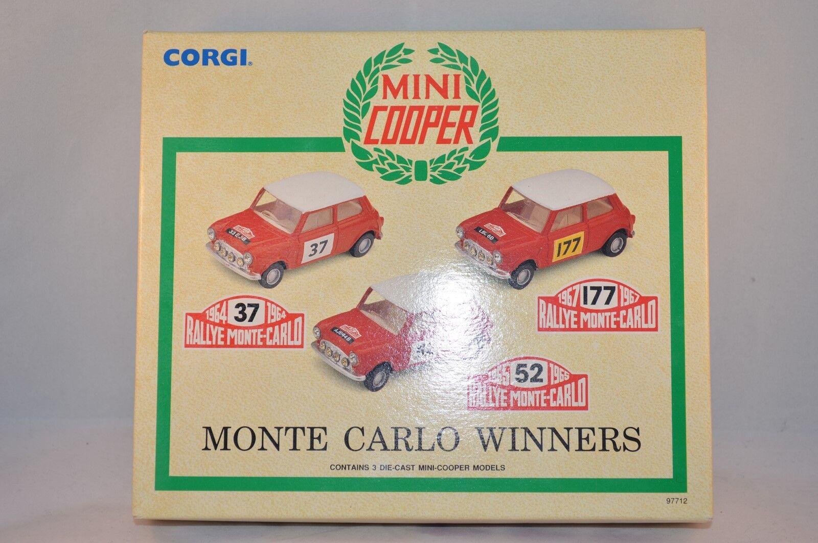 Corgi Toys 97712 Monte Carlo Winners Mini Cooper    Model 1 43 mint in box