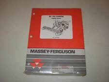 Massey Ferguson Mf 760 Combine Parts Manual Issued 1993