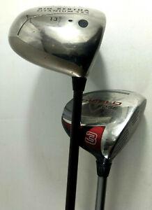 Callaway 2 Clubs de Golf Femme  Big Bertha Titanium 454 13° et Diablo Edge 3