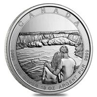10 oz Silver Canada the Great CTG Niagara Falls $50 Coin In C