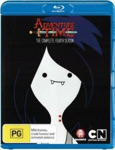 ADVENTURE-TIME-SEASON-4-BLU-RAY-Sealed-Region-B-for-UK