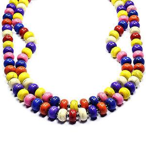 Vintage-Rainbow-Turquoise-Necklace-Handmade-Gemstone-Jewellery-Tantric-Tokyo