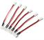 6 Stück Molex Walkera 2.0 2P /> PH 2.0 2P Lipo Akku Battery Adapter Ladekabel RC