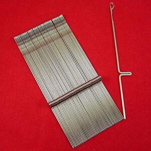 Neu-50-Nadeln-fuer-Strickmaschinen-Brother-KH260-KH270-Knitting-Machine-Needles