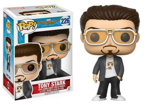 Homecoming Spider-Man Homecoming POP Marvel Tony Stark Vinyl Bobble Head #226
