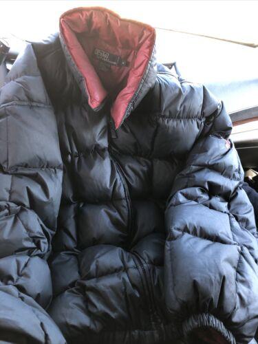 Ralph Lauren polo Mens Winter Puffer Coat XL Black