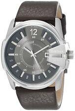 Diesel Men's DZ1206 'Master Chief' Brown Leather Watch