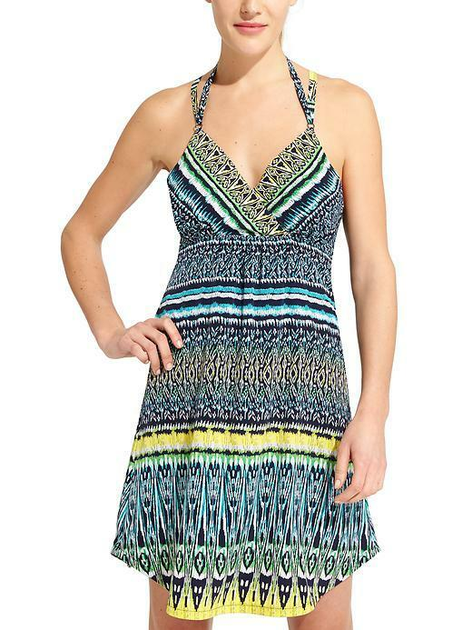 NWOT Athleta Marbella Dress, Multi-color SIZE XS