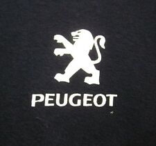 PEUGEOT small T shirt French car Lion logo Le Mans Cup automobile tee