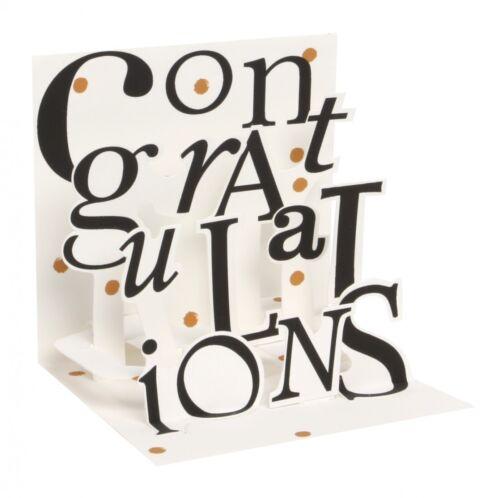 Pop UP 3D Glückwunsch Geburtstag Mini Grußkarte PopShot Congratulations 7,6x7,6