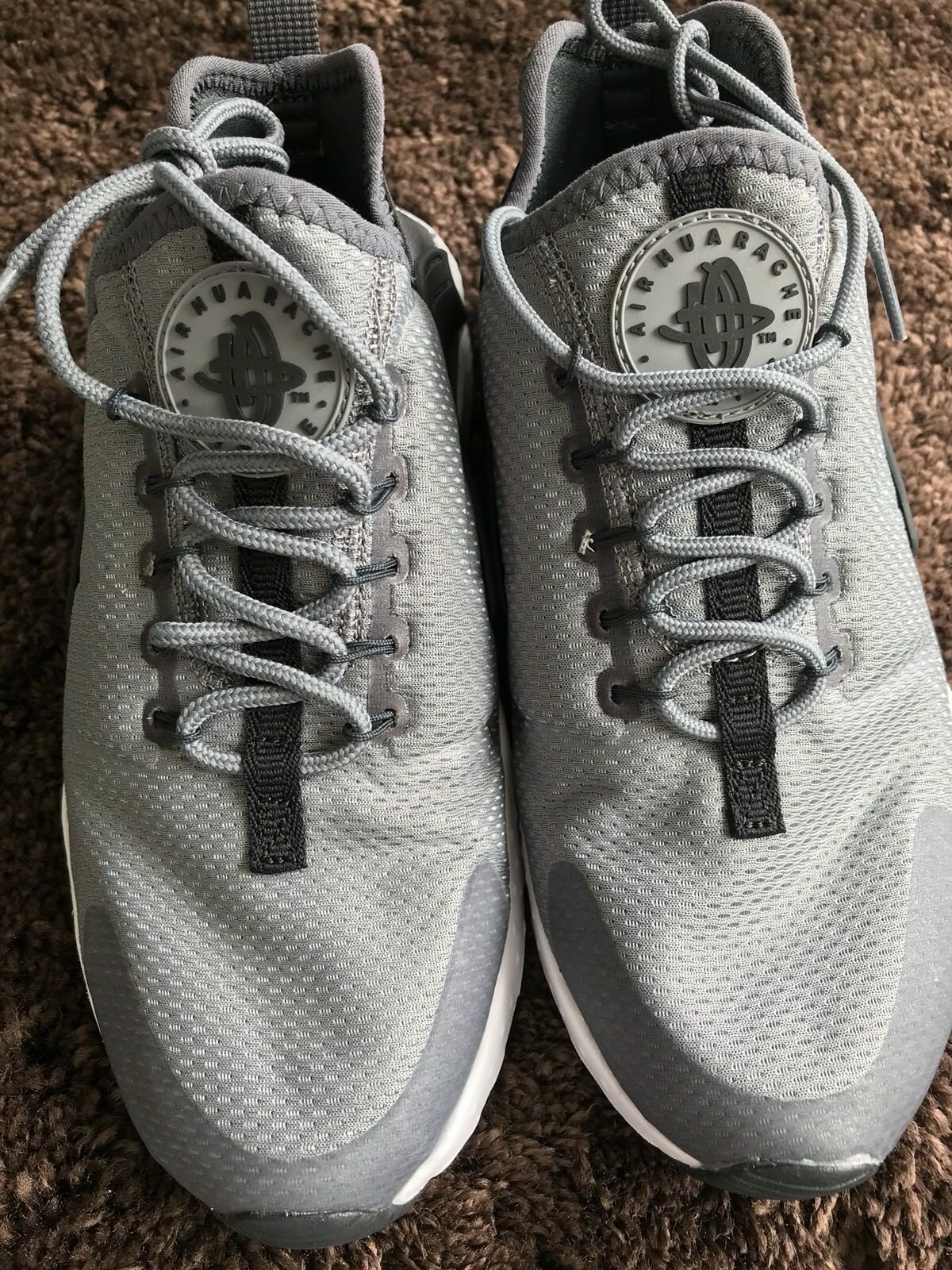 Nike Women's Air Huarache Run Ultra Grey - Comfortable Great discount