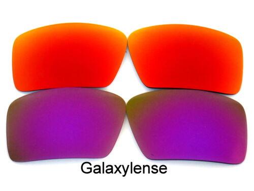 1 Viola Galaxy Oakley Ricambio Lenti Rosso Benda Di amp;2 Sull'occhio Per amp; fzqUw0f