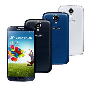 Unlocked-Smartphone-Samsung-Galaxy-S4-GT-I9500-16GB-13-0MP-NFC-Black-White-Blue