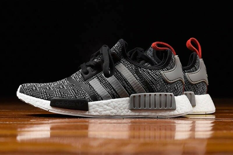 ADIDAS NMD R1 GREY BLACK & RED SIZE BB2884 NEW , UK SIZE RED 11.5 1645da