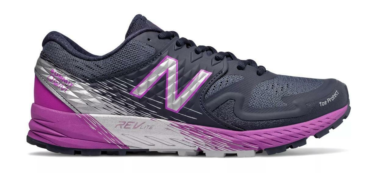 NEW BALANCE SUMMIT Q.O.M. WTSKOMPP PIGMENT NAVY VOLTAGE purple PURPLE SILVER