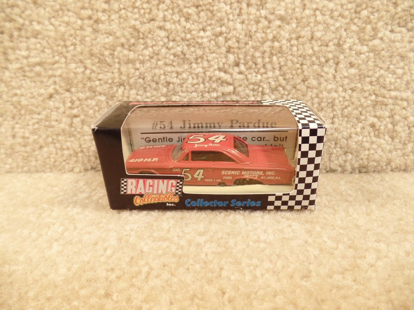 New 1992 Action 1 64 Scale Diecast NASCAR Jimmy Pardue Scenic Motors 1963 Ford b