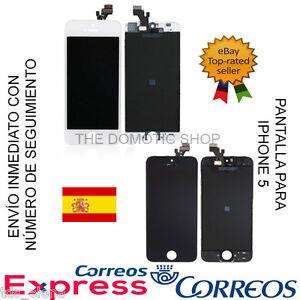 3d5873490ce La imagen se está cargando PANTALLA-COMPLETA-LCD-TACTIL-PARA-IPHONE-5S- CRISTAL-