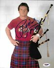 Rowdy Roddy Piper Signed WWE 8x10 Photo PSA/DNA COA Picture w Kilt Bagpipes Auto
