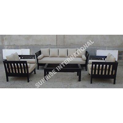 New Modern Wooden Sofa Set  3 + 1 + 1 + Center Table !!