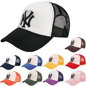 6d2ead3c42904 NewYork NY Yankees Baseball Mesh Cap Sport Sun Visor Trucker Cool ...
