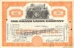 The-Grand-Union-Company-gt-1948-stock-certificate-share