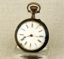 Alte SILBER Taschenuhr Herren Uhr pocket watch alte Uhren taschenuhren antike