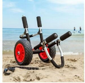 Paddle Board Standup Carrier Dolly Rack Surf Cart Aluminum