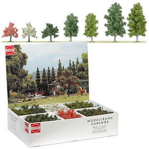 Busch-6334-Gauge-H0-45-Leaves-Fruit-Trees-New-Original-Packaging