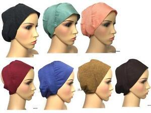 Stiff-front-bandana-underscarf-cap-under-hijab-inner-headband-lovely-material