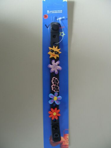 Gummi Armband  Jibbitz als Accessoire f 5x Schuhpins Set Anstecker Clocks #22