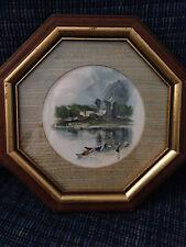 """""""Turner Vignette"""" J.M.W. Turner Framed Watercolor?"""