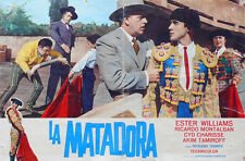 FOTOBUSTA 1, LA MATADORA, ESTER WILLIAMS, MONTALBAN, TAMIROFF, COMMEDIA MUSICALE