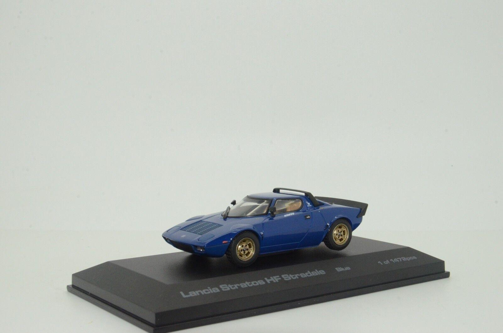 Rare    Lancia Stratos HF Stradale bluee Hpi-Racing 979 1 43