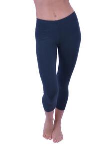 Vivian's Fashions Capri Leggings - Cotton (junior And Junior Plus Sizes) Low Price