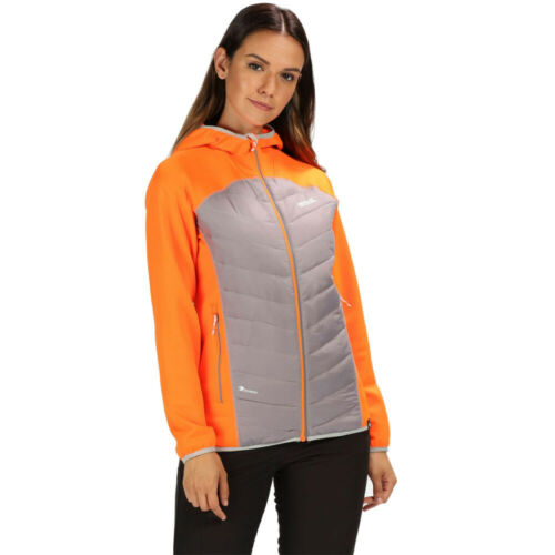 Regatta femme Anderson IV Hybride Veste FEMME Gris Orange Sport Outdoors