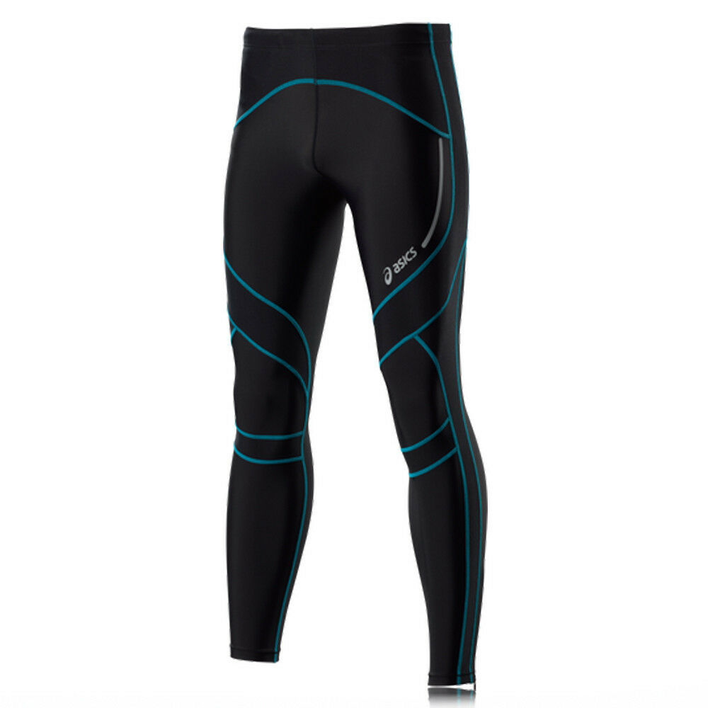 Asics Men's Compression Active-wear Running Tights Size XX-Large