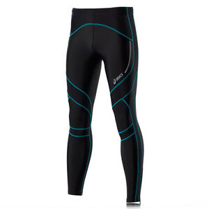 Details about Asics Leg Balance Men's Compression Running Tights Size XX Large