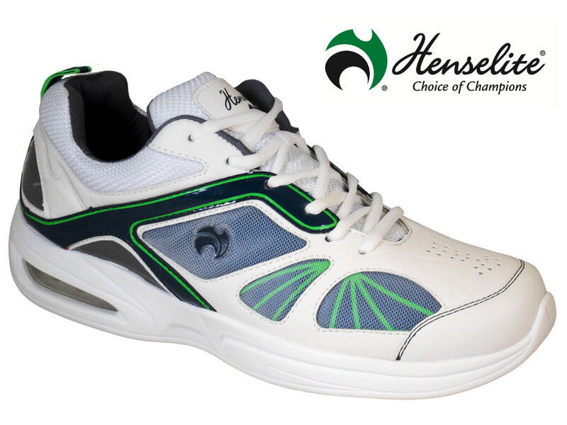 Mens HENSELITE Tiger Sports42 Lawn Bowl Trainers  rrp
