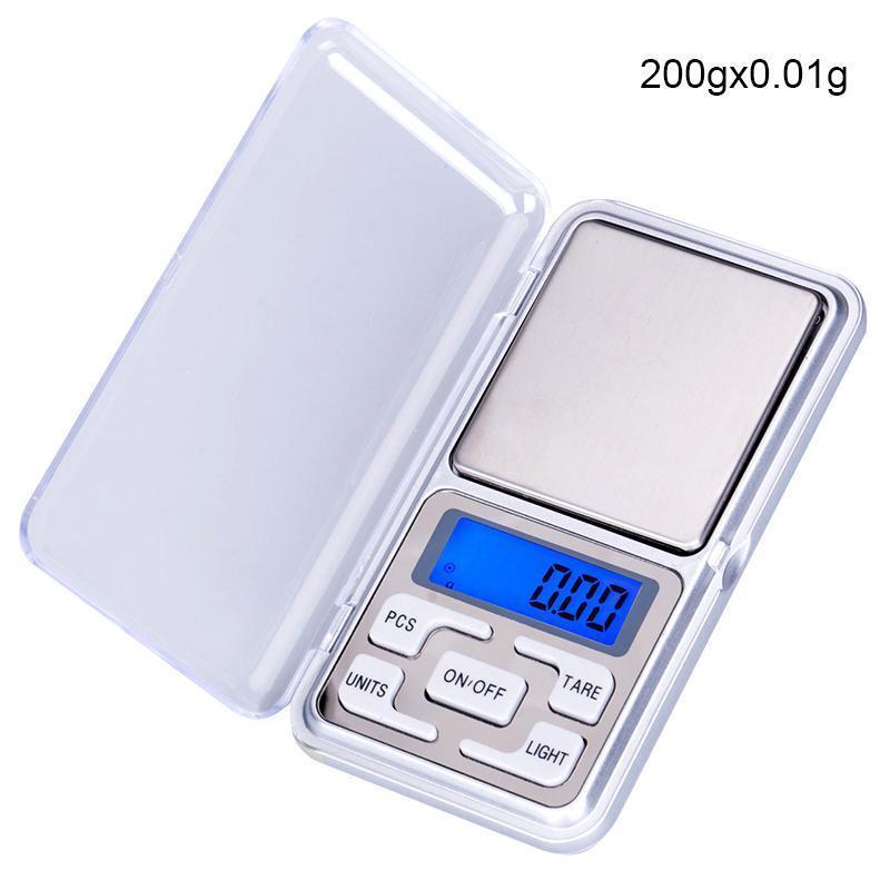 Pocket Digital Jewelry Scale Weight 200g X 0.1g 0.01g Balance Electronic Gram Dt - unbranded/generic - ebay.co.uk