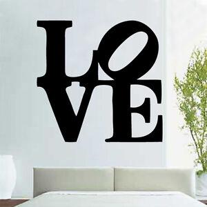 Big Love Autocollant Decal Autocollant Mural Vinyle Art Home Proverbes Populaires-afficher Le Titre D'origine