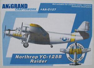 ANiGRAND AA-2127 - Northrop YC-125B Raider Transport - 1:72 Bausatz Resin Kit