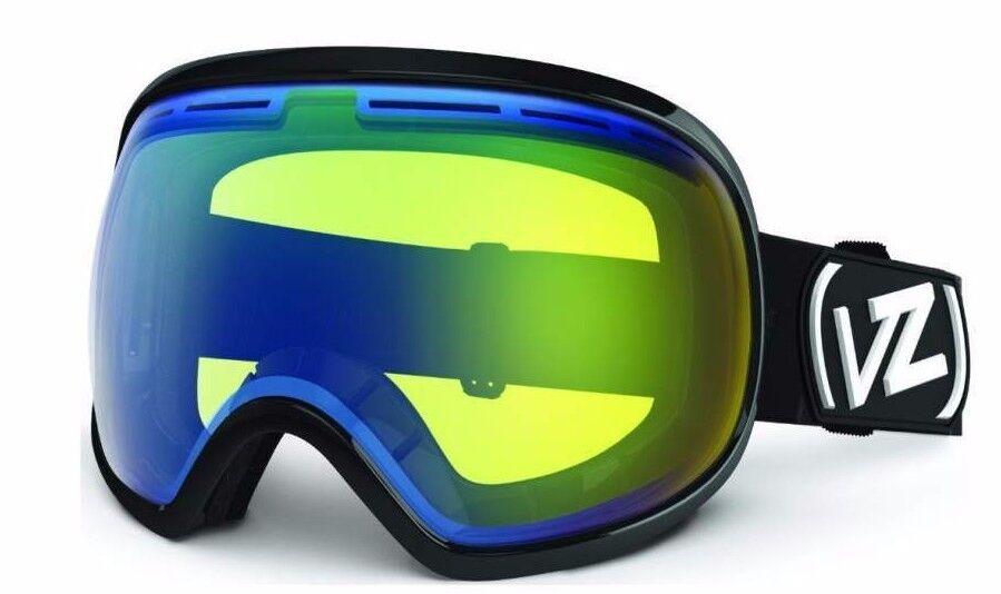 Vonzipper Fishbowl Snowboard Ski Lunettes Protectrices schwarz Brillant Gelb Neuf
