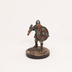Pintado En Miniatura Viking, Pathfinder RPG, DND, histórico de fantasía.