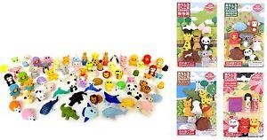 IWAKO-Japanese-Novelty-Puzzle-Eraser-Rubber-Zoo-Farm-Gorilla-Lion-Animals