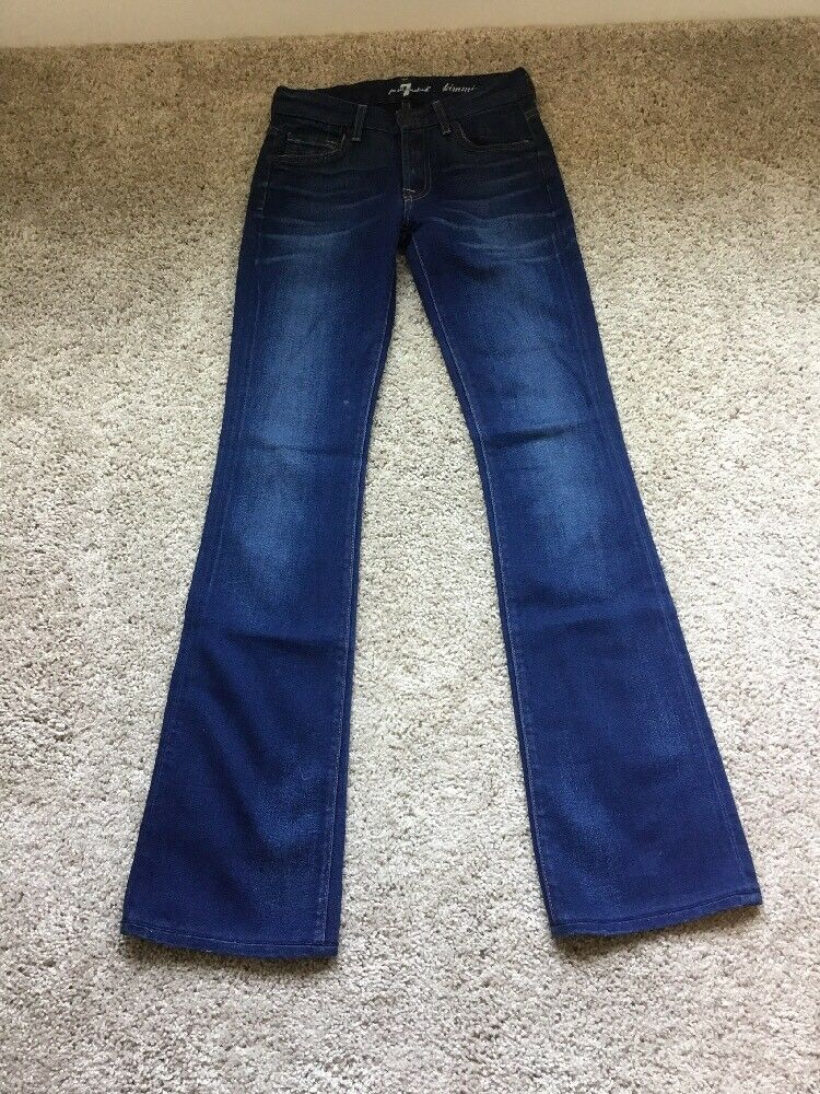 7 for all mankind Jeans size 24 womenskimmie bootcut preowned