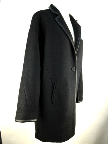 noire Moyen Petit Taille laine Zara Zara mélange de en Manteau XnxOqvFzw