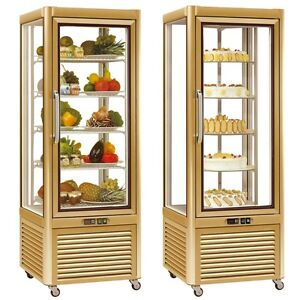 Image is loading PRISMA-400QG-UPRIGHT-PATISSERIE-&-CAKE-FRIDGE-DISPLAY- & PRISMA 400QG UPRIGHT PATISSERIE u0026 CAKE FRIDGE DISPLAY CABINET ...